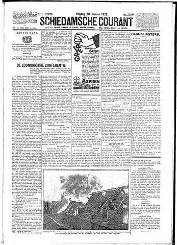 Schiedamsche Courant 1933-01-20
