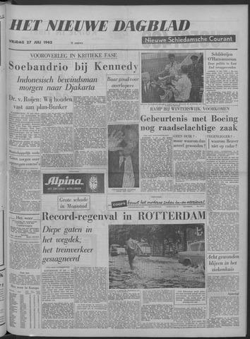 Nieuwe Schiedamsche Courant 1962-07-27