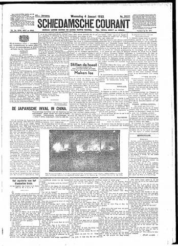 Schiedamsche Courant 1933-01-04