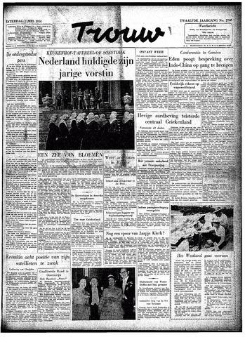 Trouw / De Rotterdammer 1954-05-01