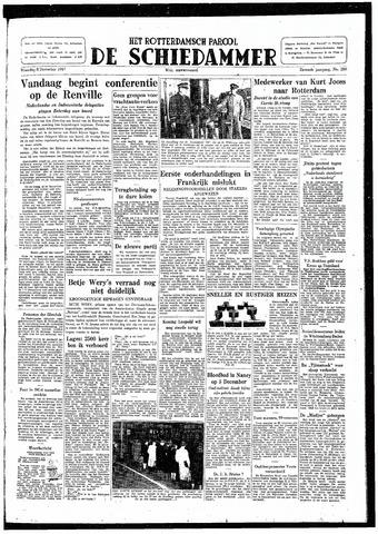Rotterdamsch Parool / De Schiedammer 1947-12-08