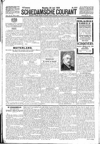 Schiedamsche Courant 1929-06-24
