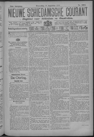 Nieuwe Schiedamsche Courant 1918-08-14
