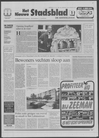 Het Nieuwe Stadsblad 1996-07-10