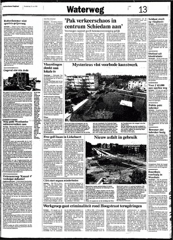 Rotterdamsch Nieuwsblad / Schiedamsche Courant / Rotterdams Dagblad / Waterweg / Algemeen Dagblad 1991-05-23