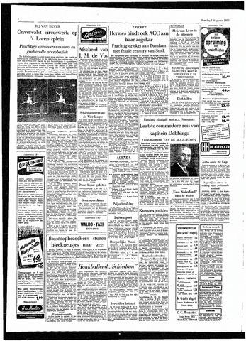 Rotterdamsch Parool / De Schiedammer 1955-08-01