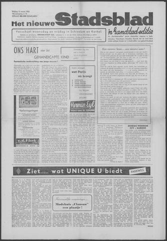 Het Nieuwe Stadsblad 1963-03-15