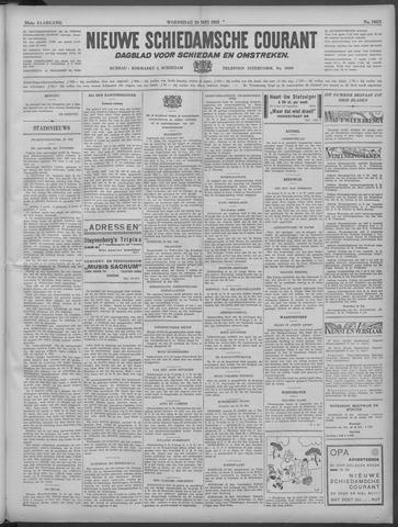 Nieuwe Schiedamsche Courant 1933-05-24
