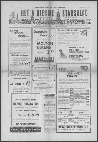 Het Nieuwe Stadsblad 1954-12-17