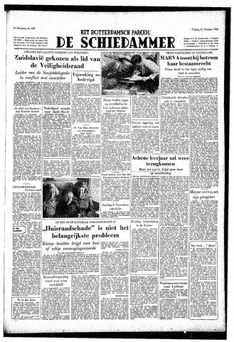 Rotterdamsch Parool / De Schiedammer 1949-10-21