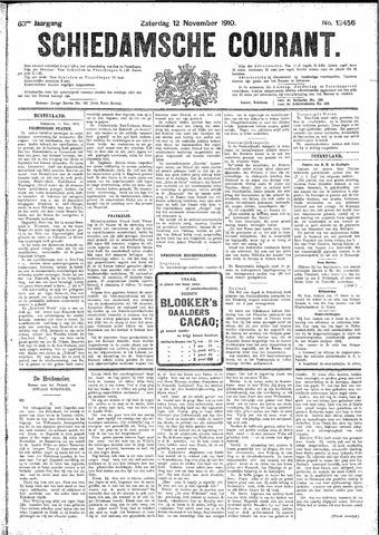 Schiedamsche Courant 1910-11-12