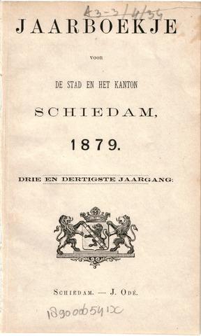 Schiedams Jaarboek 1879-01-01