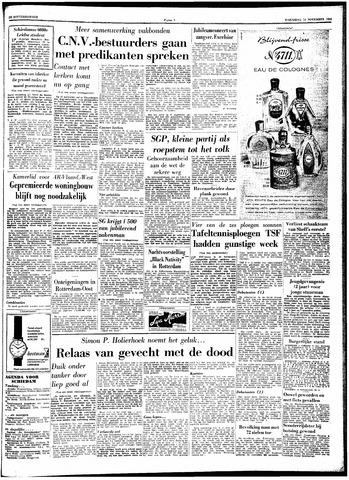 Trouw / De Rotterdammer 1962-11-14
