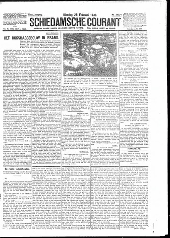 Schiedamsche Courant 1933-02-28