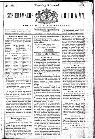 Schiedamsche Courant 1881-01-05
