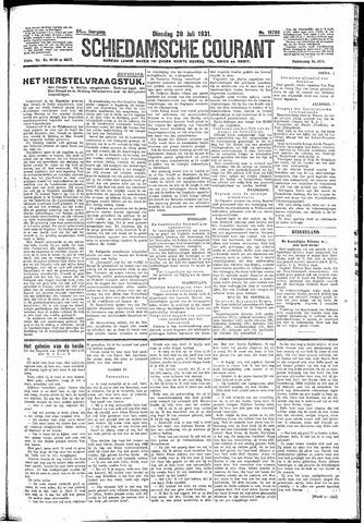 Schiedamsche Courant 1931-07-28