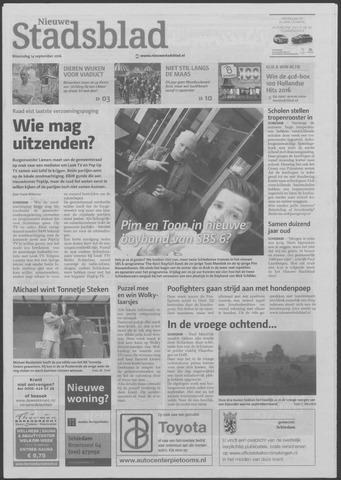 Het Nieuwe Stadsblad 2016-09-14