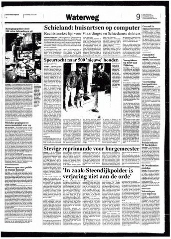 Rotterdamsch Nieuwsblad / Schiedamsche Courant / Rotterdams Dagblad / Waterweg / Algemeen Dagblad 1993-07-15