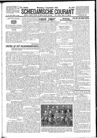 Schiedamsche Courant 1931-09-02