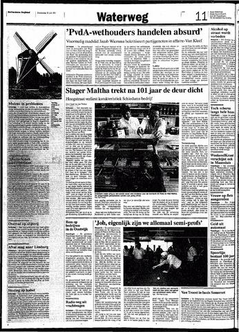 Rotterdamsch Nieuwsblad / Schiedamsche Courant / Rotterdams Dagblad / Waterweg / Algemeen Dagblad 1991-07-25