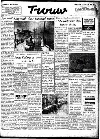 Trouw / De Rotterdammer 1958-03-01