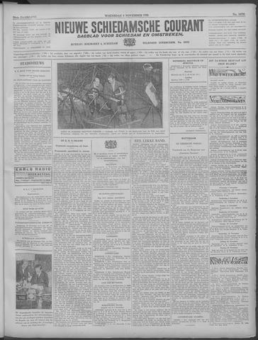 Nieuwe Schiedamsche Courant 1933-11-08
