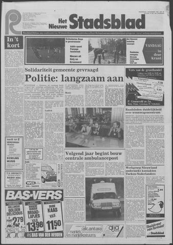 Het Nieuwe Stadsblad 1983-11-02
