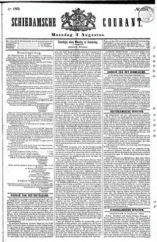 Schiedamsche Courant 1862-08-04