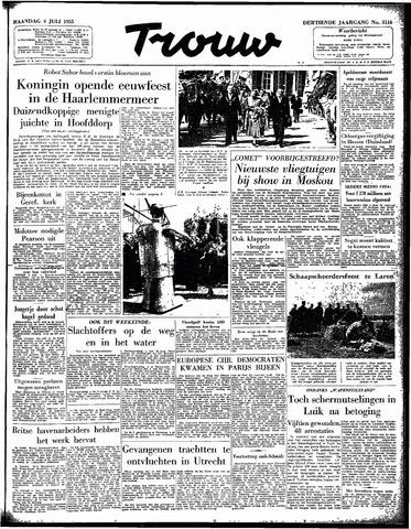 Trouw / De Rotterdammer 1955-07-04