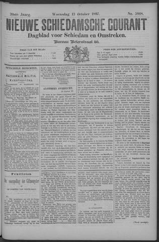 Nieuwe Schiedamsche Courant 1897-10-13