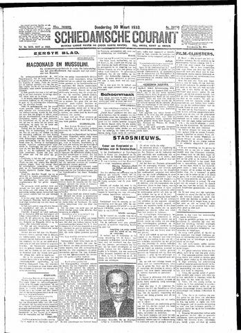 Schiedamsche Courant 1933-03-30