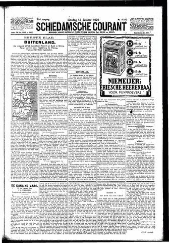 Schiedamsche Courant 1929-10-15