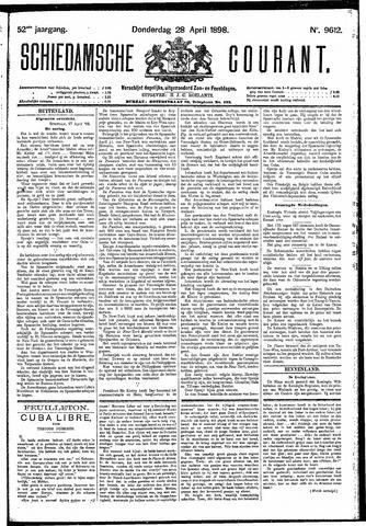 Schiedamsche Courant 1898-04-28