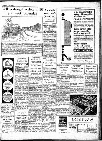 Rotterdamsch Parool / De Schiedammer 1963-07-16