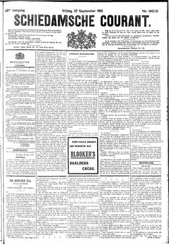 Schiedamsche Courant 1912-09-27