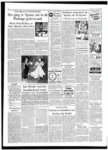 Rotterdamsch Parool / De Schiedammer 1955-08-26
