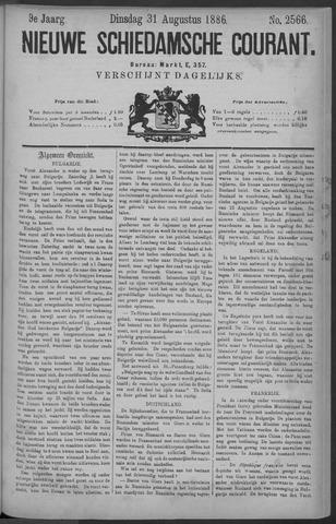 Nieuwe Schiedamsche Courant 1886-08-31