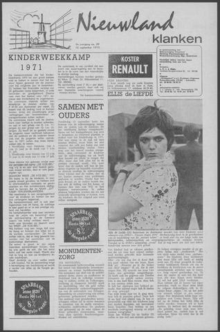 Nieuwland Klanken 1970-09-10