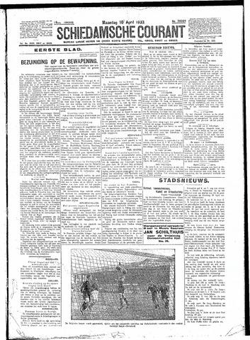 Schiedamsche Courant 1933-04-10