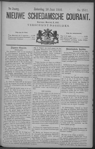 Nieuwe Schiedamsche Courant 1886-06-26