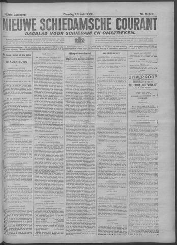 Nieuwe Schiedamsche Courant 1929-07-23