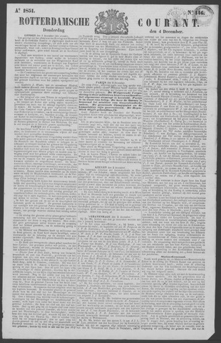 Rotterdamse Courant 1851-12-04
