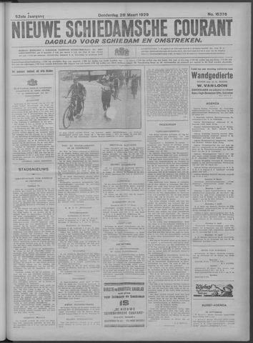 Nieuwe Schiedamsche Courant 1929-03-28
