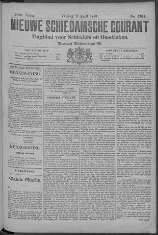 Nieuwe Schiedamsche Courant 1897-04-09