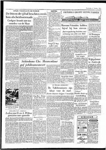 Rotterdamsch Parool / De Schiedammer 1955-10-06