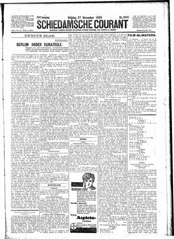 Schiedamsche Courant 1929-12-27
