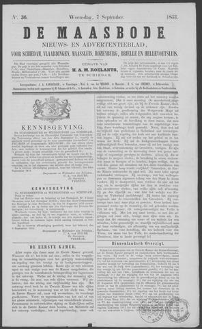 De Maasbode 1853-09-07
