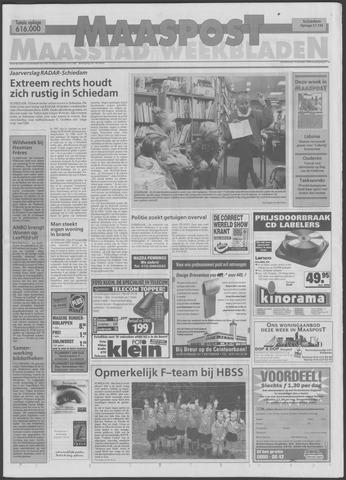 Maaspost / Maasstad / Maasstad Pers 1998-10-14
