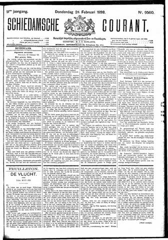 Schiedamsche Courant 1898-02-24