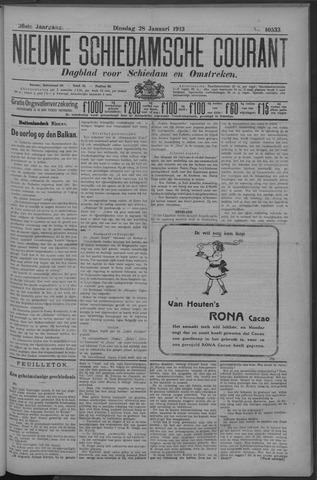 Nieuwe Schiedamsche Courant 1913-01-28